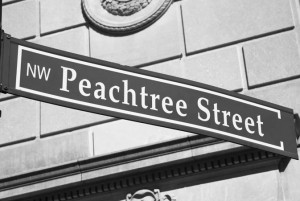 peachtree-street-bw-300x201 Atlanta Accommodations