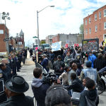 FreddieGrayPrecinctProtest-150x150 Court Reporter Benefits Become Part of Aftermath of Baltimore Police Officers' Case
