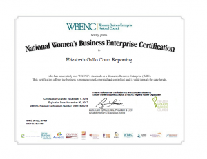 "123-300x231 EGCR is ""Women Certified""!"