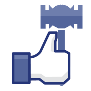 Facebook-Gavel-social-media-300x300 Judge is Disqualified Due to Facebook Relationship with Litigant