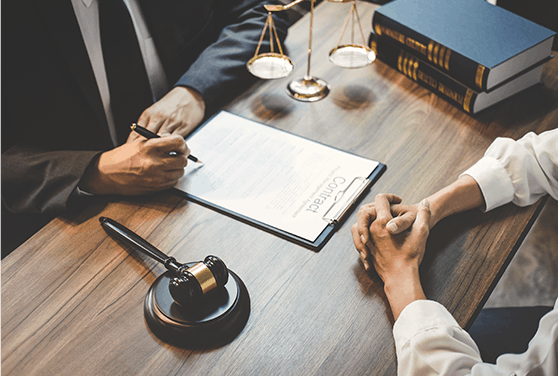 businesswoman-male-lawyer-judge-consult-having-team-meeting-with-client